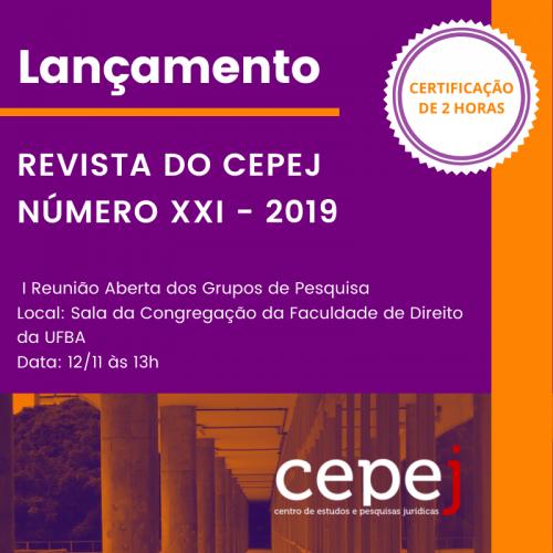 CARD LANÇAMENTO REVISTA XXI